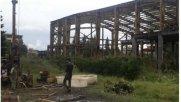 آغاز عملیات استحکام سازی بنای پروژه سالن آمفی تئاتر مجتمع فرهنگی هنری رامسر