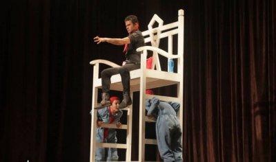 اجرای تئاتر «شب هزار و یکم» در نوشهر